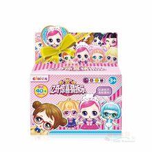 1 pcs Genuine Brinquedo de DIY Crianças Surpresas lol Bonecas com Caixa Original brinquedos Puzzle Brinquedos para Crianças presentes de Natal aniversário(China)