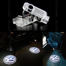 Модификация автомобиля специальный 2 * двери свет двери призрак тень лампа для проектора vw Volkswagen passat B5 фаэтон 05-12, touareg 04-10