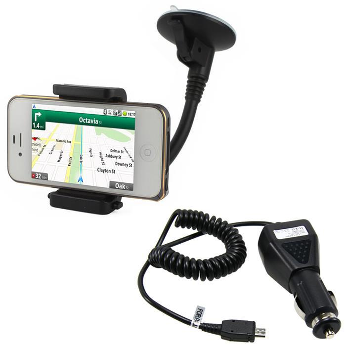 Car Mount + Charger Nokia Lumia 630 930 1520 830 640 925 1020 1030 530 730 4 inch 6 Cell Phone GPS Mobile - boee yao's store