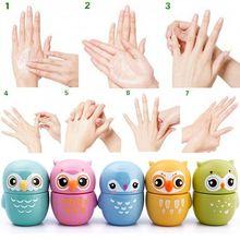 New 40ml Cute Owl Fresh Fruity Makeup Moisturizing Whitening Hand Cream Gift crema de manos #67298(China (Mainland))