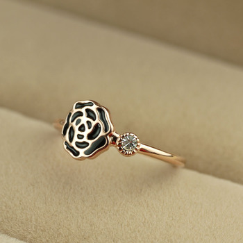 Ol rose ring female finger ring accessories jewelry s107