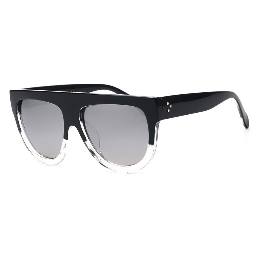 2016 Newest Luxury Translucent Frame Oversized Sunglasses ...