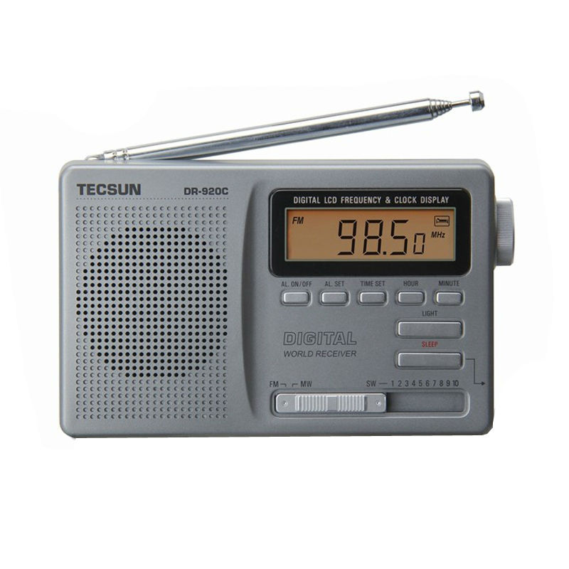 TECSUN DR-920 DIGITAL DISPLAY DIGITAL FM AM MW SW MultiBAND RADIO DR920<br><br>Aliexpress