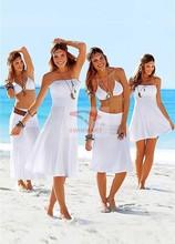 2015 Free Shipping Fashion Multiple Wear sexy Bikini dress swimsuit Cover Up Beach dress new fashion 5022(China (Mainland))