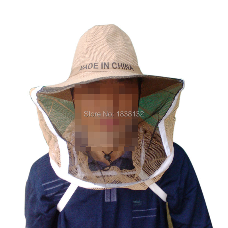 Beekeeping Hat Face Protector Bee Protective Cap Insect Fishing Mesh Mask Net Fishermen Clothing New - William's Supplies Shop store