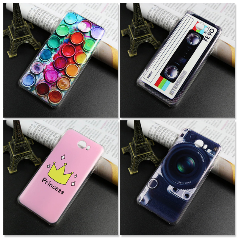 Colored Cover Case FOR Huawei Y5 II Y5 2 / Y6 II Compact