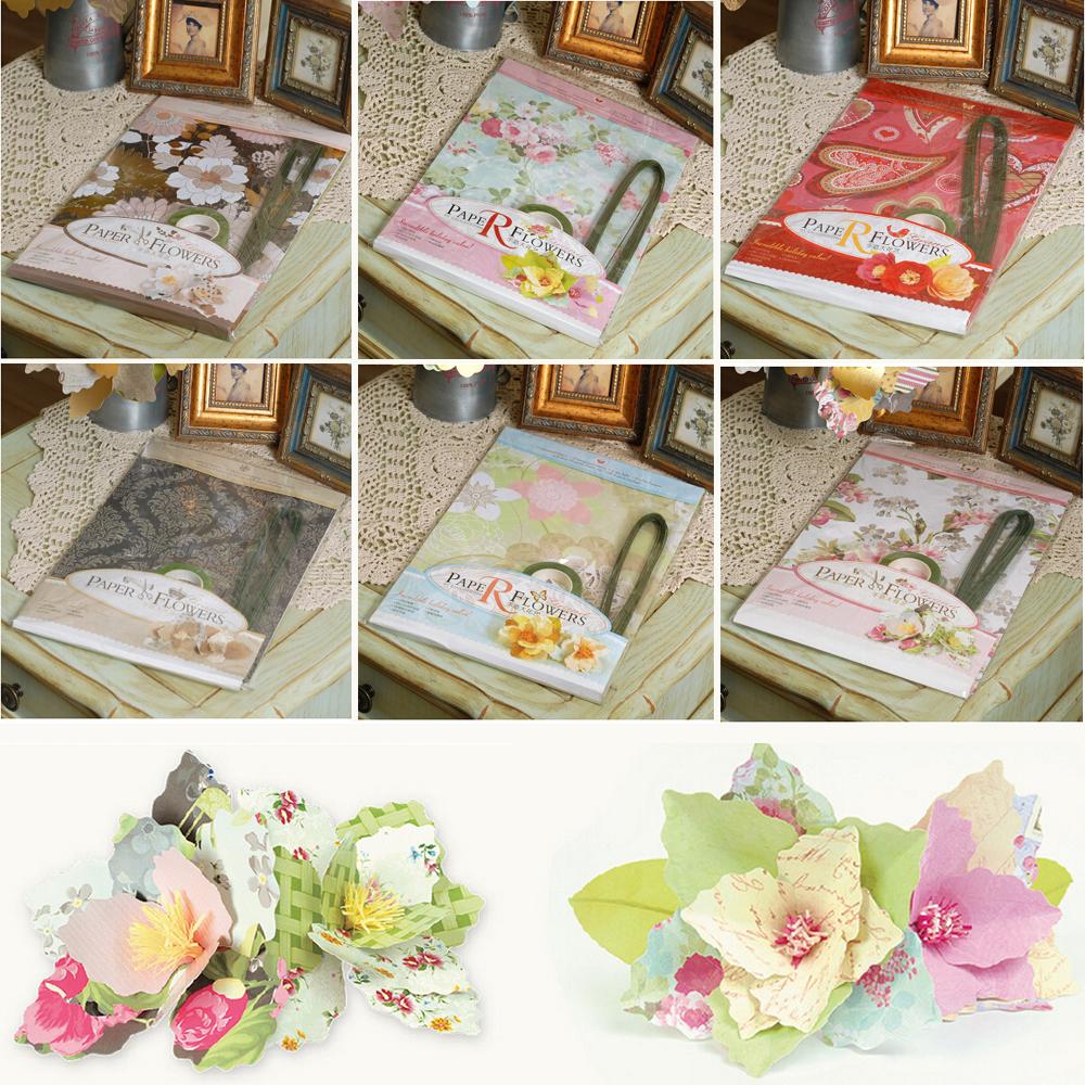 10 X 16 Pretty DIY Paper Flower Tutorials For Home Wedding Party Decorationpaper Flowers