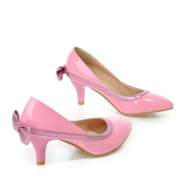 Mid Heel Patent Pink Promotion-Shop for Promotional Mid Heel ...