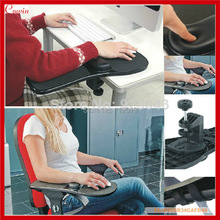 New Desk & Chiar Mounted Healthy Computer Armrest Wrist Rest Arm Holder Support & Mouse Holder Arm Support Frame(China (Mainland))