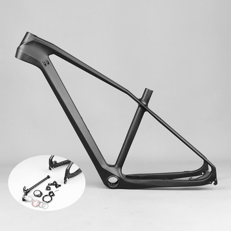"Carbon Frame 27.5 MTB 650b Carbon Mountain Bike Frame 27.5er Bicycle MTB Frame 17/18.5/20"" Bicicletas Carbon MTB Frame BB30 2017(China (Mainland))"