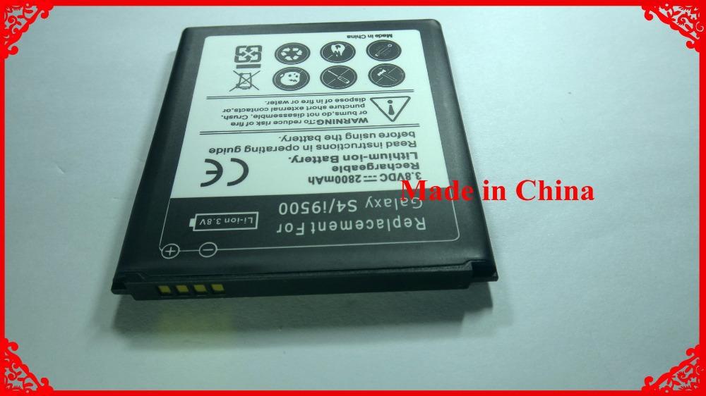 2pcs Highly Mobile Phone Rechargeable Battery Baterij 2800mAh For Samsung GALAXY S4 SIV i9500 i959 i9502 i9505 i9507 i9508(China (Mainland))