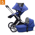 Babysing Baby Stroller with Carrycot 2 in 1 Luxury Baby Carriage Travel System Pram