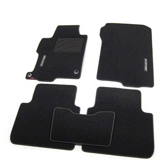 Brand New Car Floor Mats 5pcs Brand New Auto Carpet Mats Carpet Perfect Fitted For Honda Accord(China (Mainland))