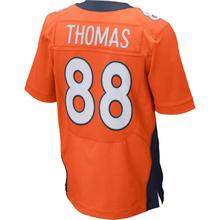 Men's #58 Von Miller 18 Peyton Manning Jerseys Adult 12 Paxton Lynch 88 Eemaryius Thomas Navy Blue Orange Elite Jersey Embroider(China (Mainland))