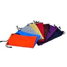 2017 New High Quality Thicken waterproof Cloth Glasses Bags Microfiber Sunglasses bags(China (Mainland))