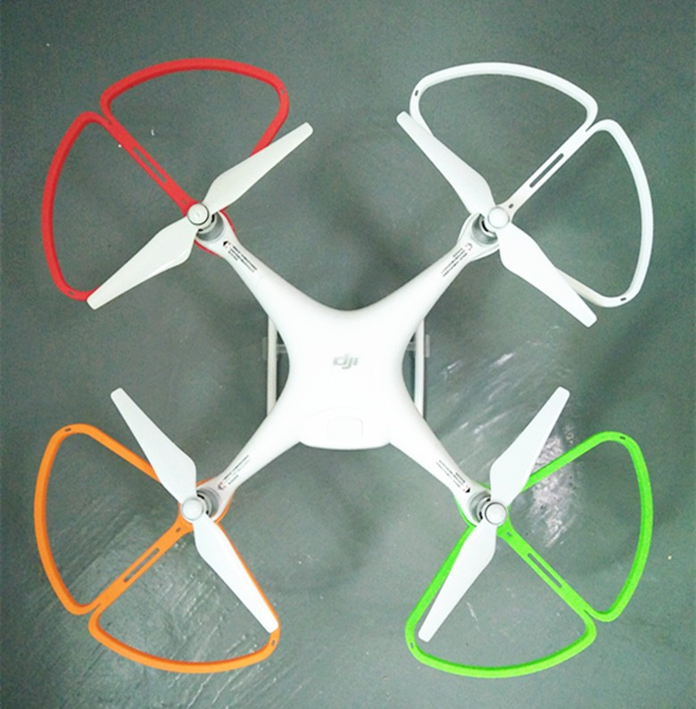 BEI LE LE new DJI Phantom 4 brushless axis UAV remote parts QR green protective circle Case Protective ring DJI Phantom 4