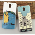 For ZTE Blade A510 Case Cover Cartoon Painted Soft TPU Case For ZTE A510 BA510 Cover