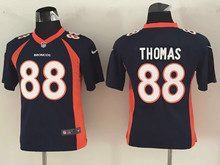 All stitched Youth Denver Broncos Kids children 94 DeMarcus Ware 7 John Elway 58 Von Miller 88 Demaryius Thomas 30 Anthony Davis(China (Mainland))