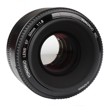 Original YONGNUO F1.8 Large Aperture Automatic YN 50mm Camera Lens for Canon EOS 5DII 5DIII 650D 600D 450D 60D 7D 7DII(China (Mainland))