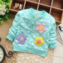 Free shipping 2015 Spring hot-selling baby girls cardigan jacket,children's sweater outwear,children cardigan#Z057(China (Mainland))