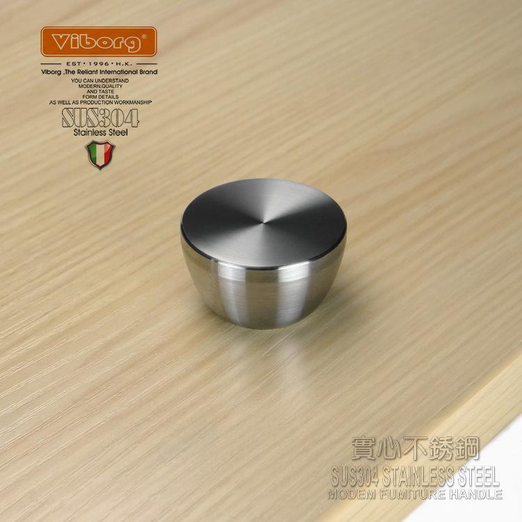 Гаджет  (4 pieces) VIBORG Deluxe Solid 304 Stainless Steel Casting Cabinet Cupboard Door Drawer Handle Pulls Knobs, satin nickel brushed None Мебель