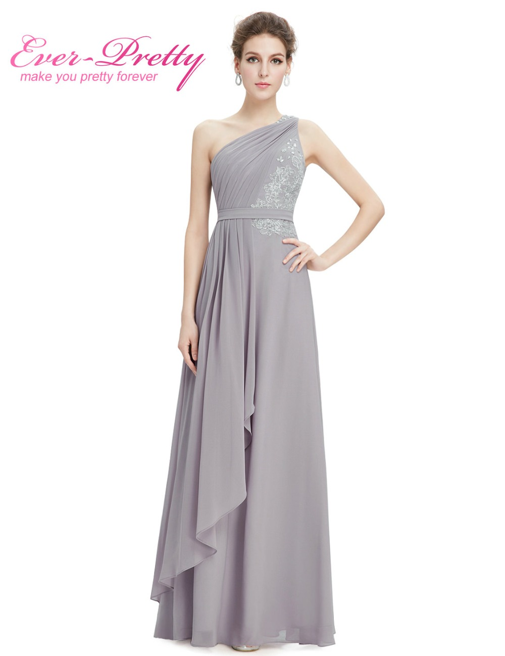 Simple cheap long bridesmaid dress wedding party dress for Bridal wedding reception dresses