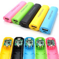 NEW Colorful Universal DIY18650 Power Bank Case Kit DIY Cell Box Portable External Battery Charger for