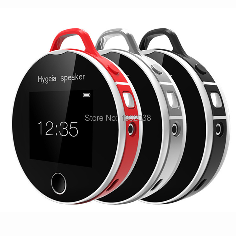 Hygeia Speaker bluetooth health partners smart heart rate test H7 mini portable Bluetooth Speaker with MP3 free download(China (Mainland))