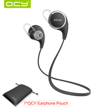 QCY QY8 Mini Bluetooth 4.1 Headset Wireless Sport Bluetooth Earphone with Mic Noise Cancelling Original English Voice Earbuds(China (Mainland))