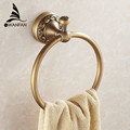 New Arrival Euro style Wal mount Antique Bronze Towel Ring Classic Bathroom Accessories Bath Towel Holder
