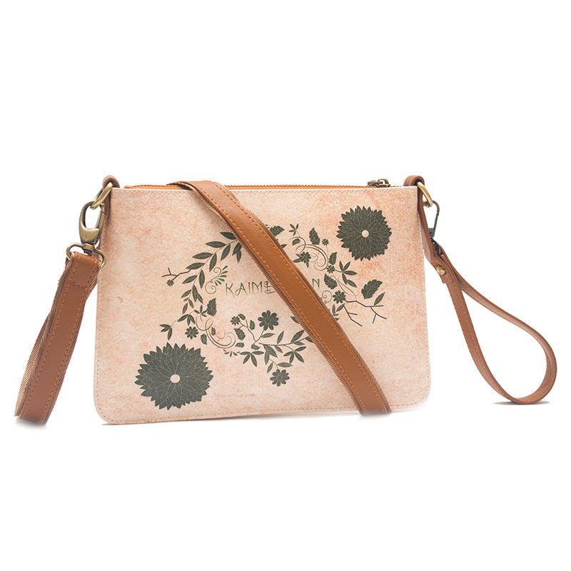 European Style Vintage Women Handbag Flower Print PU Clutch Shoulder Messenger Bags Valentine Crossbody Bag<br><br>Aliexpress