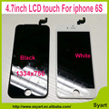 1pcs white Black 100 test OEM Quality HD1334x750 LCD Screen 4 7 inch lcd Display Digitizer