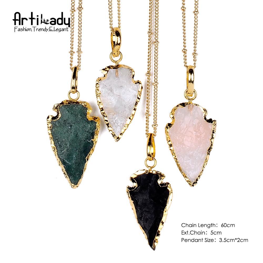 Aliexpress.com : Buy Artilady natural crystal arrows ...