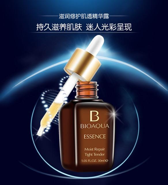 3pcs/lot 30ML BIOAQUA Advanced Moist Repair Essence Hydrating Smooth Wrinkle Anti aging Silky Serum Face Cream Whitening GI2408