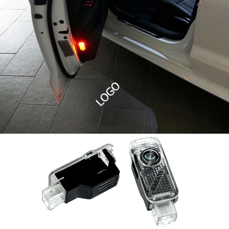 2x Newest LED Car door light ghost shadow light logo projector For Audi A8 A7 A5 A6 A4 A3 A1 TT Q7 Q5 Q3 Sline R8 RS Series(China (Mainland))