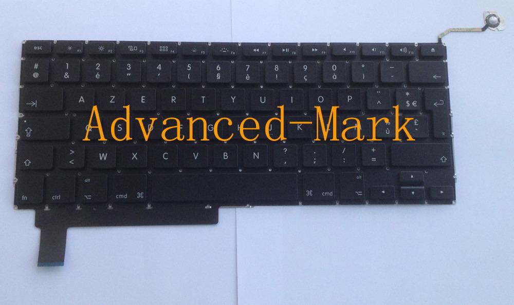 France French Keyboard Macbook Pro 15 inch A1286 2009 MB985 MB986 2010 MC371 MC372 2011 MC721 MD322 2012 MD103 MD104 2013 - ADVANCED MARK LTD store