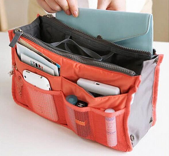 organizer bag Women Men Casual travel bag multi functional storage bag in bag Handbag Storage box