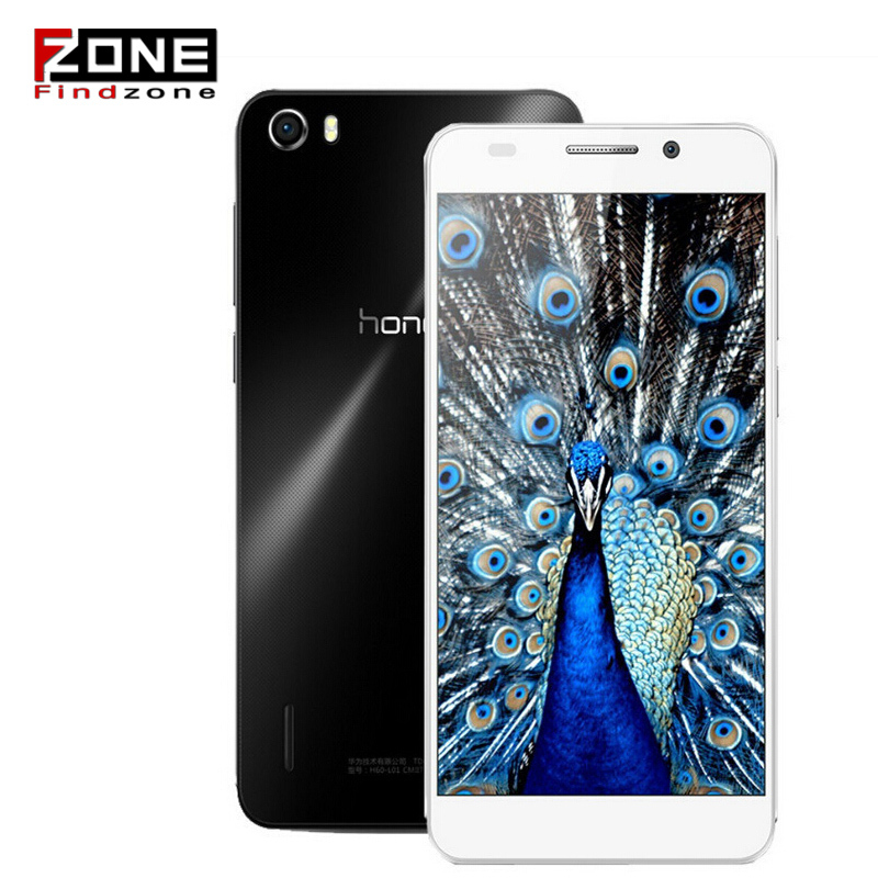Hot Huawei Honor 6 Kirin 920 Octa Core 1.7GHz 4G FDD LTE 3GB RAM 5Inch Android 4.4 Dual SIM Mobile Phone Russian(China (Mainland))