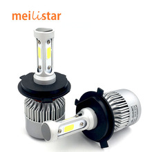 Buy Car led H4 H7 H11 H1 H13 H3 9004 9005 9006 9007 9012 COB LED Car Headlight Bulb Hi-Lo Beam 72W 8000LM 6500K Auto Headlamp 12v24v for $28.99 in AliExpress store