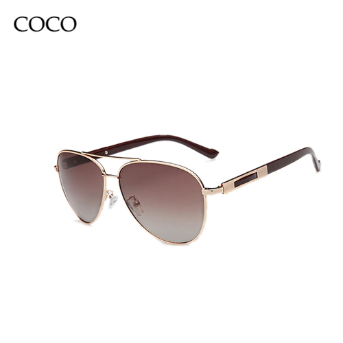 Fashion Men Polarized Sunglasses Motorcycle Aviator Oculos Sun Glasses Brand Designer 2015 Sunglass For Driving Eyewear With Box(China (Mainland))