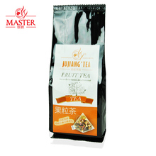 JUJIANG master black currant tea bags transparent selection of three dimensional triangular fruit tea bubble tea