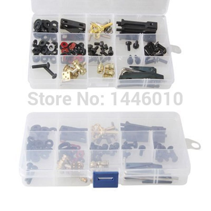 Crazy Tattoo Storage Box Pro DIY Kit of Parts Accessories Screws Kit For Tattoo Machine Gun Repair and Maintain Free shipping