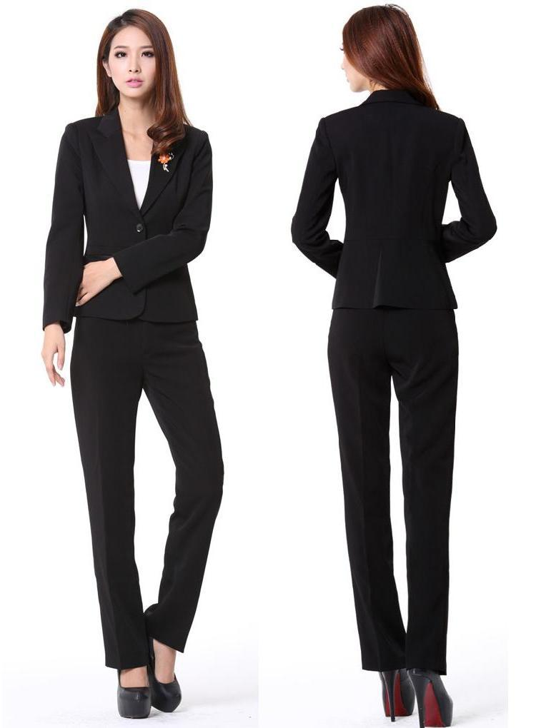 Beautiful Simple Business Pant Suits For Women  WardrobeLookscom