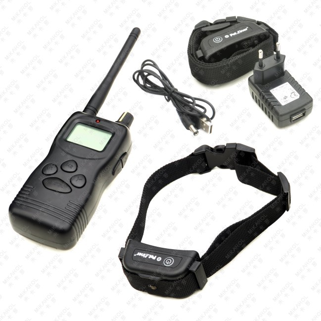 Remote Pet Trainer Dog Training Collar for 2 Dogs with 99LV of Shock and Vibration(China (Mainland))