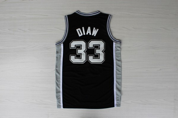 Retro #33 Boris Diaw Jersey Basketball Stitched Logo New Material Rev 30 Sports Jerseys Shirt - Max's fashion store