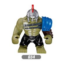 Super Heróis Vingadores lEGOED Infinito Guerra Homem De Ferro Thor Thanos Pantera Negra Falcon Gamora Hulk Building Blocks toy WY30(China)