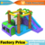 Jungle inflatable bouncer for birthday gift and party
