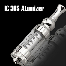 IC30S Atomizer 3.0ml tank Huge vapour Replaceable core coil stainless Clearomizer IC30s Atomizer for Electronic Cigarette