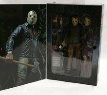 18 cm vendredi le 13TH le dernier chapitre Freddy Vs 3D Jason Action Figure Collection modèle jouet poupée cadeau(China)