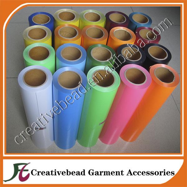 ALL COLORS PVC / Printable PU Flex / FLOCK / Glitter / Hologram / Heat Transfer Film(China (Mainland))